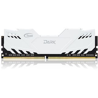 16GB TeamGroup Dark Series weiß DDR4-2800 DIMM CL16 Quad Kit