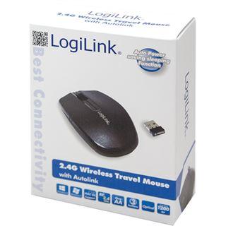 LogiLink ID0114 USB schwarz (kabellos)