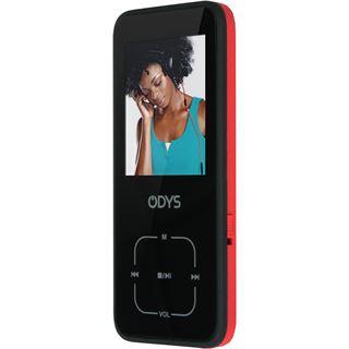 Odys Hero MP3-Player inkl. 4 GB microSD Karte schwarz