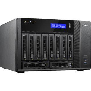 QNAP Turbo Station TVS-EC1080-E3-16G ohne Festplatten