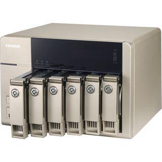 QNAP Turbo Station TVS-663-4G ohne Festplatten