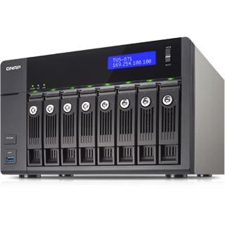 QNAP Turbo Station TVS-871-i7-16G ohne Festplatten