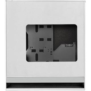 Silverstone Fortress FT05 mit Sichtfenster schallgedämmt Midi Tower ohne Netzteil silber