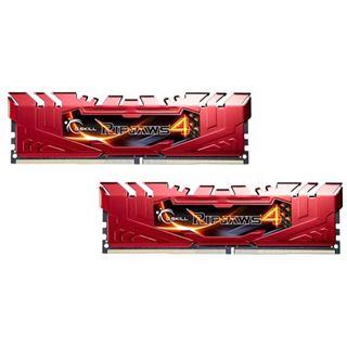 8GB G.Skill RipJaws 4 rot DDR4-2400 DIMM CL15 Dual Kit