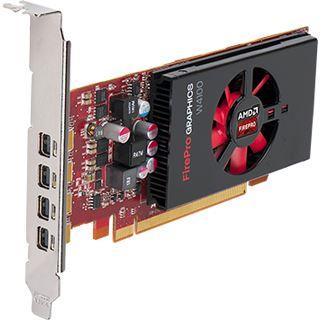 2GB Fujitsu FirePro W4100 Aktiv PCIe 3.0 x16 (Retail)