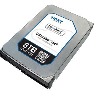 """8000GB Hitachi Ultrastar He8 512e ISE 0F23268 128MB 3.5"""" (8.9cm) SAS 12Gb/s"""