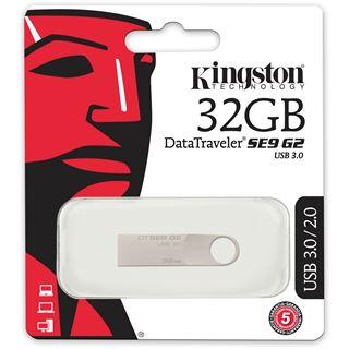 32 GB Kingston DataTraveler SE9 G2 silber USB 3.0