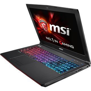 "15.6"" (39,62cm) MSI GE62-2QEWi78 Gaming Notebook"
