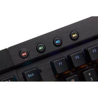 Corsair Gaming K95 CHERRY MX Brown USB Deutsch schwarz (kabelgebunden)