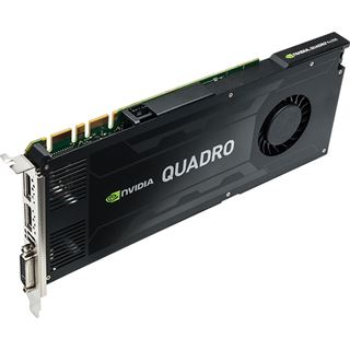4GB HP Quadro K4200 J3G89AT Aktiv PCIe 2.0 x16 (Retail)