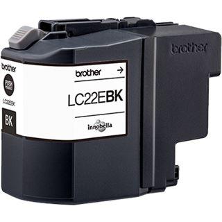 Brother Tinte LC22EBK schwarz