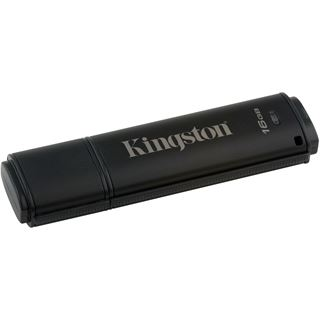 16 GB Kingston DataTraveler 4000 G2 schwarz USB 2.0