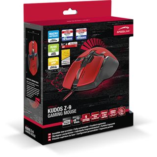 Speedlink Kudos Z-9 USB rot (kabelgebunden)