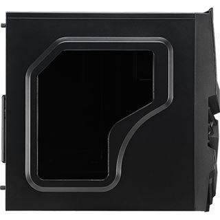 AeroCool Cyclops Advance mit Sichtfenster Midi Tower ohne Netzteil schwarz