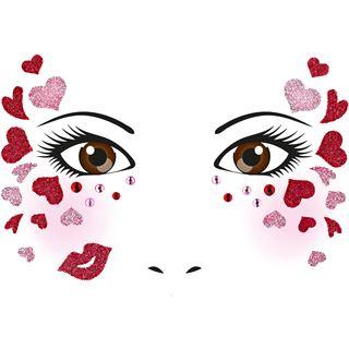 Herma Face Art Sticker Love