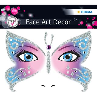 Herma Face Art Sticker Butterfly