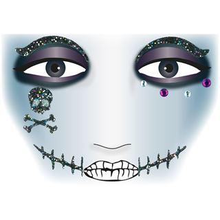 Herma Face Art Sticker Pirat