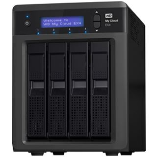 WD My Cloud EX4 20 TB (4x 5000GB)