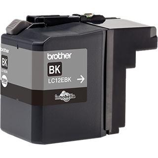 Brother Tinte LC12EBK schwarz