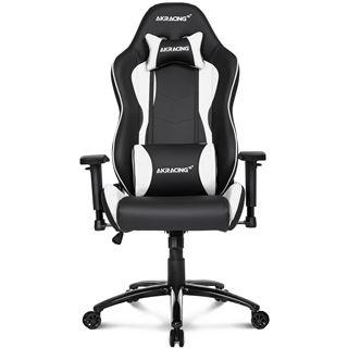 AKRACING Nitro Gaming Chair - schwarz/weiß