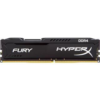 32GB HyperX FURY schwarz Dual Rank DDR4-2133 DIMM CL14 Quad Kit