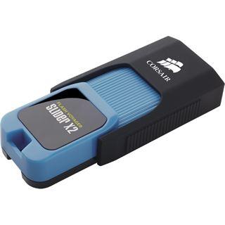 16 GB Corsair Voyager Slider X2 schwarz/blau USB 3.0