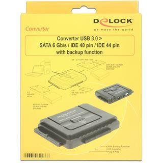 DeLOCK Converter USB 3.0 ext.> SATA 22-Pin