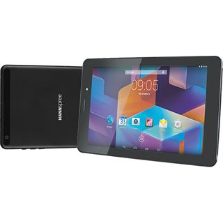 """8.0"""" (20,32cm) Hannspree HANNSpad Dual Sim 3G/WiFi/Bluetooth V4.0 8GB schwarz"""