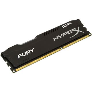 8GB HyperX FURY schwarz Dual Rank DDR4-2133 DIMM CL14 Single