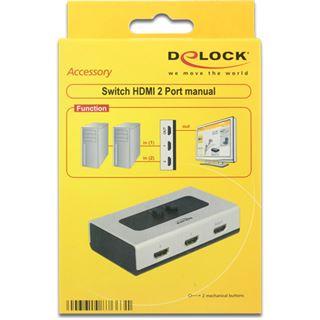 Delock 87663 2-fach HDMI-Switch