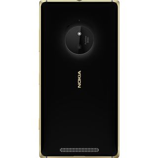 Microsoft Lumia 830 schwarz-gold