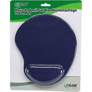 InLine 55453B mit Handballenauflage 205 mm x 205 mm blau
