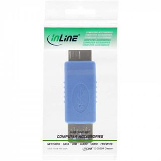 InLine USB 3.0 Adapter, Buchse A auf Stecker Micro B,