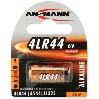 Ansmann Alkaline Batterie, 6V, 4LR44, 1er Pack (1510-0009)