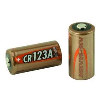 ANSMANN CR123A Lithium Batterie 3.0 V 1er Pack bulk