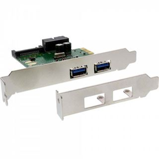 InLine 76666D 3 Port PCIe inkl. Low Profile Slotblech / Low Profile retail