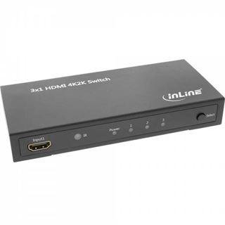 InLine 65014 3-fach HDMI-Switch