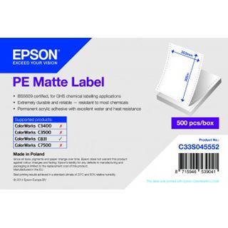 Epson weiss matt 203x305mm