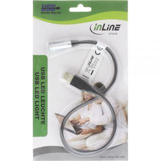 InLine USB-LED-Leuchte 1 LED