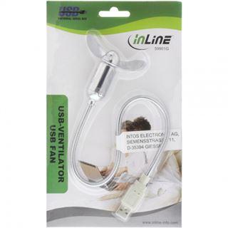 InLine USB Ventilator portabel Ein/Aus Schalter
