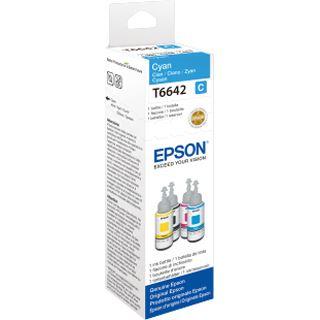 T6642 Epson CYAN INK BOTTLE 70ML