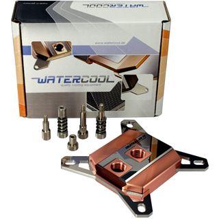 Watercool Heatkiller CPU Rev. 4.0 Pro Edelstahl / Kupfer CPU Kühler