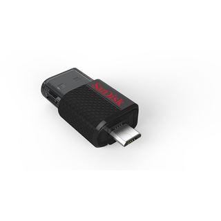16 GB SanDisk Ultra Dual schwarz USB 2.0 und microUSB