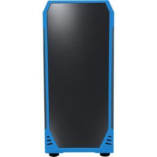 BitFenix Aegis Core mit Sichtfenster Mini Tower ohne Netzteil schwarz/blau