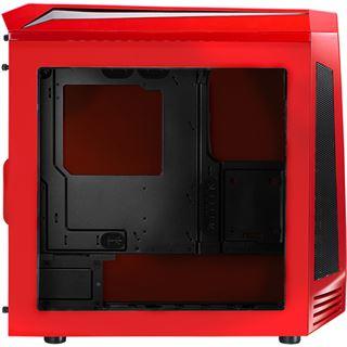 BitFenix Aegis Core mit Sichtfenster Mini Tower ohne Netzteil rot/schwarz