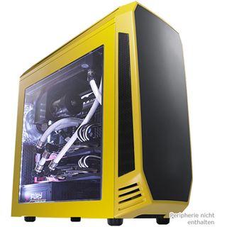 BitFenix Aegis Core gelb mit Sichtfenster Mini Tower ohne Netzteil gelb/schwarz