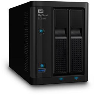 WD My Cloud EX2100 8 TB (2x 4000GB)