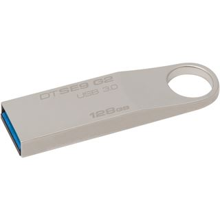 128 GB Kingston DataTraveler SE9 G2 silber USB 3.0