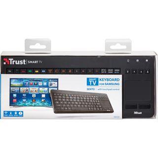 Trust Sento USB Deutsch schwarz (kabellos)