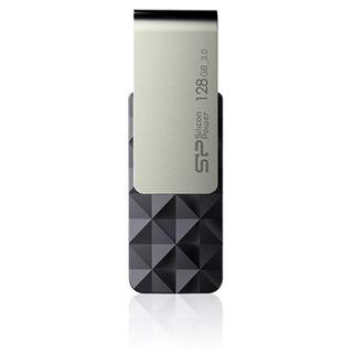 128 GB Silicon Power Blaze B30 schwarz/silber USB 3.0